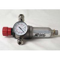 Редуцир вентил за въздух FIAC / 0-12 bar с извод 1/4'' , бърза връзка /