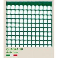 Универсална PVC мрежа TENAX ''QUADRA 10'', 1x30 m , отвори 9.0 х 9.0 мм