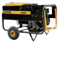 Трифазен бензинов генератор AYERBE 9000 V TX / 7,1kW, разход 2,1 л/ч. /