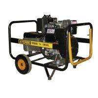 Трифазен дизелов генератор AYERBE 12500 D TX / 10,2 kW, 2,4 л/ч, ел.старт /