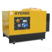 Трифазен обезшумен бензинов генератор AYERBE 13000 INS TX  / 10kW, разход 3,2 л/ч., ел.старт /