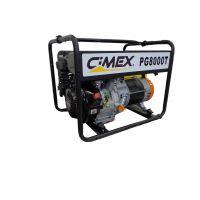 Бензинов трифазен генератор Cimex PТ8000 / 6.0 kW , 230/400 V , 12 V / 8.6 A , с двигател Cimex G440