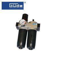 Пневматичен филтър, регулатор и омаслител GÜDE 41087, 3/4(N)PT / 0-10 bar /
