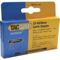 Скоби TACWISE за такер CT60 / 10/6 mm , 5x1000 бр. /