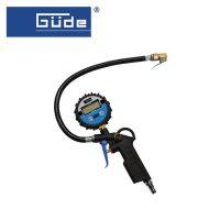Пистолет за помпене на автомобилни гуми с цифров манометър GÜDE 2823