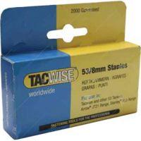 Телчета TACWISE 53 / Тип: J , 53/8 mm , 2000 бр. /