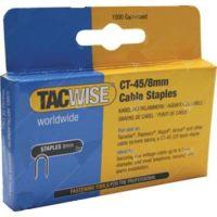 Скоби TACWISE за такер CT45 / 8x4.5 mm , 5x1000 бр. /