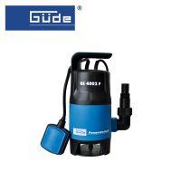 Помпа за изпомпване на замърсена вода GÜDE GS 4002 P, 400W / напор 5 метра /