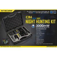 Ловен комплект Nitecore CB6 Hunting Kit / 440 lm , 190 m , фенер , зарядно /
