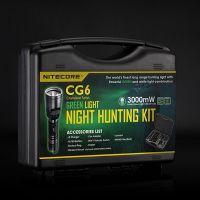 Ловен комплект Nitecore CG6 Hunting Kit / 440 lm , 190 m , фенер , зарядно /