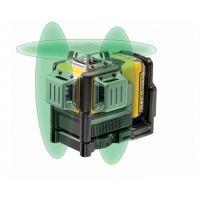 Нивелир лазерен линеен DeWalt DCE089D1G-QW / 2, 1mW, ± 0,3 mm/m / зелен лъч