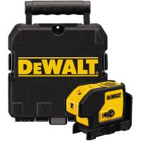 Нивелир лазерен 3-точков DeWalt DW083K-XJ / 4 х 1,5V AA батерии, +/‐ 0,2 мм/м /