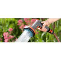 Пистолетен душ/воден разпрасквач за лехи Gardena / 2 форми на струя /