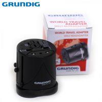 Универсален адаптер GRUNDIG G 42171003 / 4 в 1 / за стандартите в EU USA UK AUS