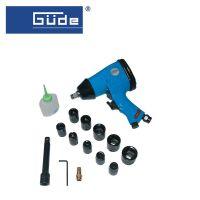 Комплект пневматичен гайковерт с вложки и аксесоари GÜDE 40039, SW 9-27
