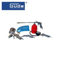 Комплекти пневматични инструменти GÜDE 84089, 5 части, 1/4''