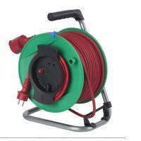 Удължител на макара с кабел Schwabe / 3х1.5,H05RR-F , 50 м, 1-контакт, IP44 /