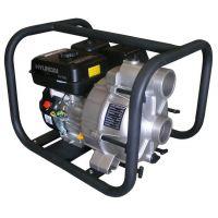 Моторна бензинова самозасмукваща помпа за мръсна вода/ трашпомпа Hyundai HY-T 80-3 / 3'' , воден стълб 25 m /