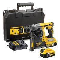Акумулаторен перфоратор DeWalt DCH273P2 18 V, 5 Ah , 2.1 J, 2 батерии, зарядно и куфар