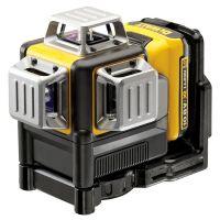Линеен лазерен нивелир DeWalt DCE089D1R-QW / 3 лъча , 50 м , , 1 mW , +/- 0.3 мм/м /