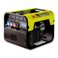 Бензинов монофазен генератор Pramac S 12000, 10.7 KW, двигател Honda