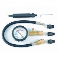 Уред за измерване на компресията на бензинови двигатели Force tools /0-21 bar/
