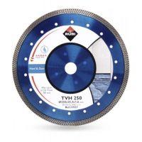 Диск диамантен за мокро рязане на гранитогрес и порцелан RUBI TVH / 250x25.4 мм /