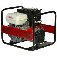 Бензинов монофазен генератор Fogo FH 5001 / 4.4 kW , 9 к.с. / с двигател Honda GX270