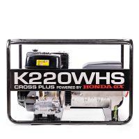Трифазен заваръчен генератор CROSS PLUS K220WHS /с двигател HONDA GX390, 6.5 kW , 220 A , AVR /