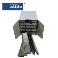 Скоби за пневматичен такер GUDE / П-профил , 10 mm , 5000 бр /
