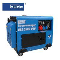 Електрогенератор GÜDE GSE 5500 DSG трифазен / 7.35 kW , 19А1 /