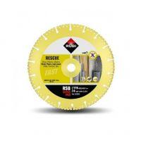 Диск диамантен за сухо рязане на бетон,стоманобетон,гранит,метал,пластм. и дърво RUBI / 115x22.23 mm , RSQ /