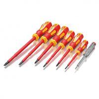 Комплект отвертки електричарски VDE 1000V ERBA 01004 - 7броя