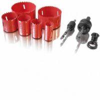 Комплект боркорони SSH-BI 9 части ERBA 03166 / HSS-BI Metall /