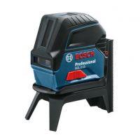 Линеен лазер Bosch GCL 2-15 /стойка RM 1 Professional + куфар /