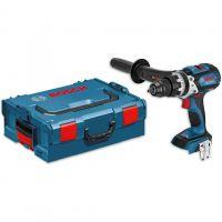 Акумулаторен винтоверт с безчетков двигател Bosch GSR 18 VE-EC / L-BOXX, 18V, 75 Nm- Solo