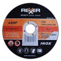 Диск Инокс REXXER RG-06-136 / Ø 115x1x22 mm /