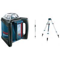 Ротационен лазер Bosch GRL 500 H + статив+приемник LR 50 / ± 0,05 mm/m /