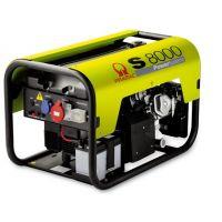 Бензинов монофазен генератор Pramac S 8000, 6.4 kW, двигател Honda