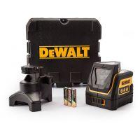 Нивелир лазерен линеен с 2 лъча DeWALT DW0811 / 15 m, 0.4 mm/1 m