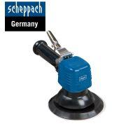 Комплект пневматичен ексцентършлайф с двойно действие Scheppach 7906100719 / Ø 150 мм,  6''