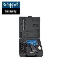 Комплект пневматичен гайковерт с вложки и аксесоари Scheppach 7906100717 / 312 Nm, 1/2'' /