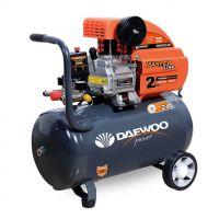 Електрически бутален компресор DAEWOO DAAC 24D / 2HP/ 1.5KW, 24l, 8 bar