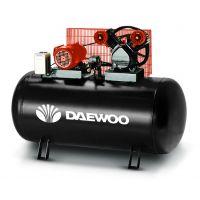 Електрически бутален ремъчен компресор DAEWOO DAC 300C / 3HP/ 2,2KW, 300l, 8 bar