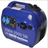 Инверторен бензинов генератор ELEKTRO maschinen GSEm 2000 SBI  / 2.0 kW