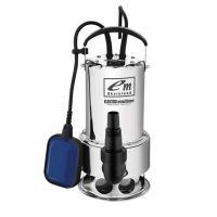 Потопяема водна помпа за мръсна вода ELEKTRO mashinen SPR 15502 DR / 1100 W , воден стълб 11 m /