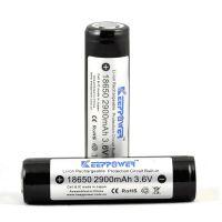 Батерия KeepPower KP 18650 / 3100 mAh / Li-ion с вградена защита PCM