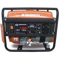 Бензинов безчетков монофазен генератор DAEWOO GD 1200 / ръчен старт / 1.0kW, 4,8 l,