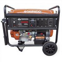 Бензинов монофазен генератор DAEWOO GD 6000 / ръчен старт / 5,5kW, 25 l