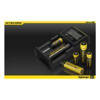 Зарядно устройство с LED екран Nitecore Digicharger D2 / 4.2V ±1% / 3.7V ±1% / 1.48V ±1% /